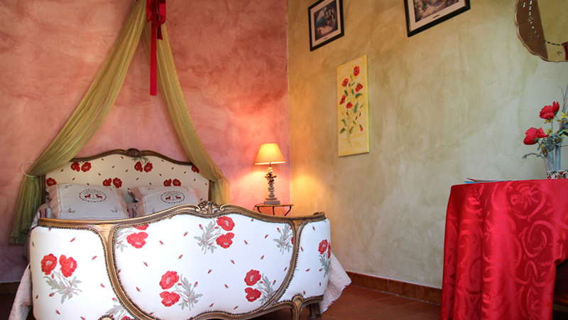 Le confort de notre chambre d hotes le mas font de cinq for Chambre d hote languedoc roussillon